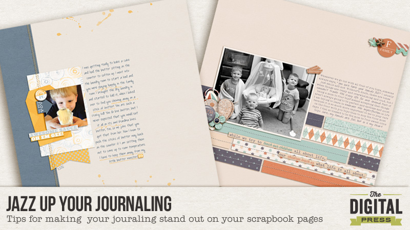 jazz up your journaling
