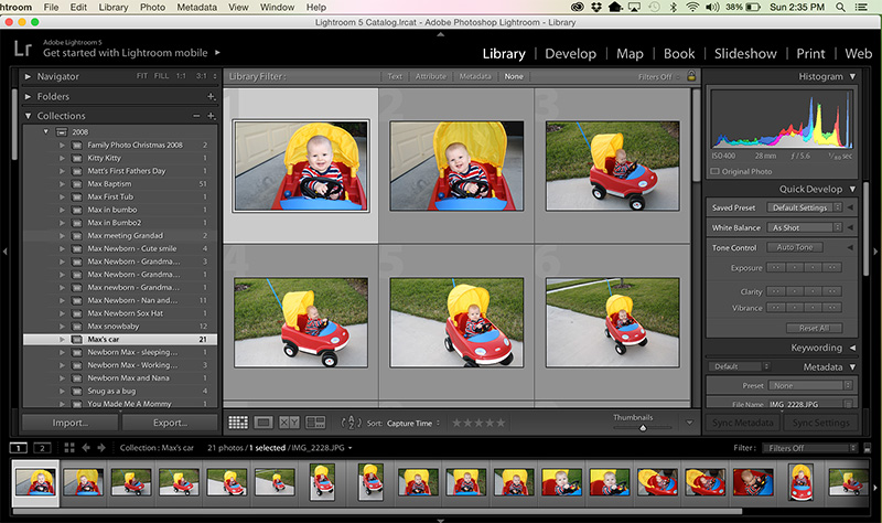 Are You Ready to Scrap? Using Lightroom Collections to plan your layouts