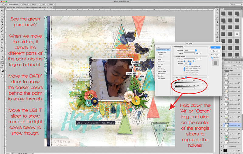 Step 2: Blending Digital Paint - Tutorial Tuesday: Blending Your Digital Paints! | The Digital Press