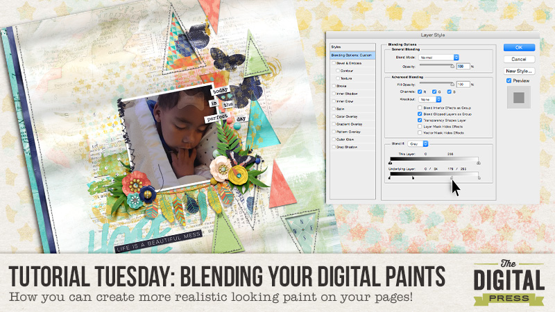 Tutorial Tuesday: Blending Your Digital Paints! | The Digital Press