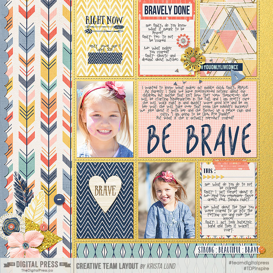 Be Brave. Scrapping what makes you Brave