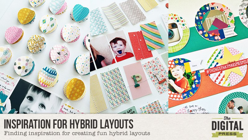 Finding Inspiration for Hybrid Layouts