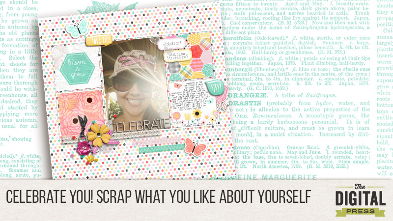 Celebrate You! Scrap what you like about yourself