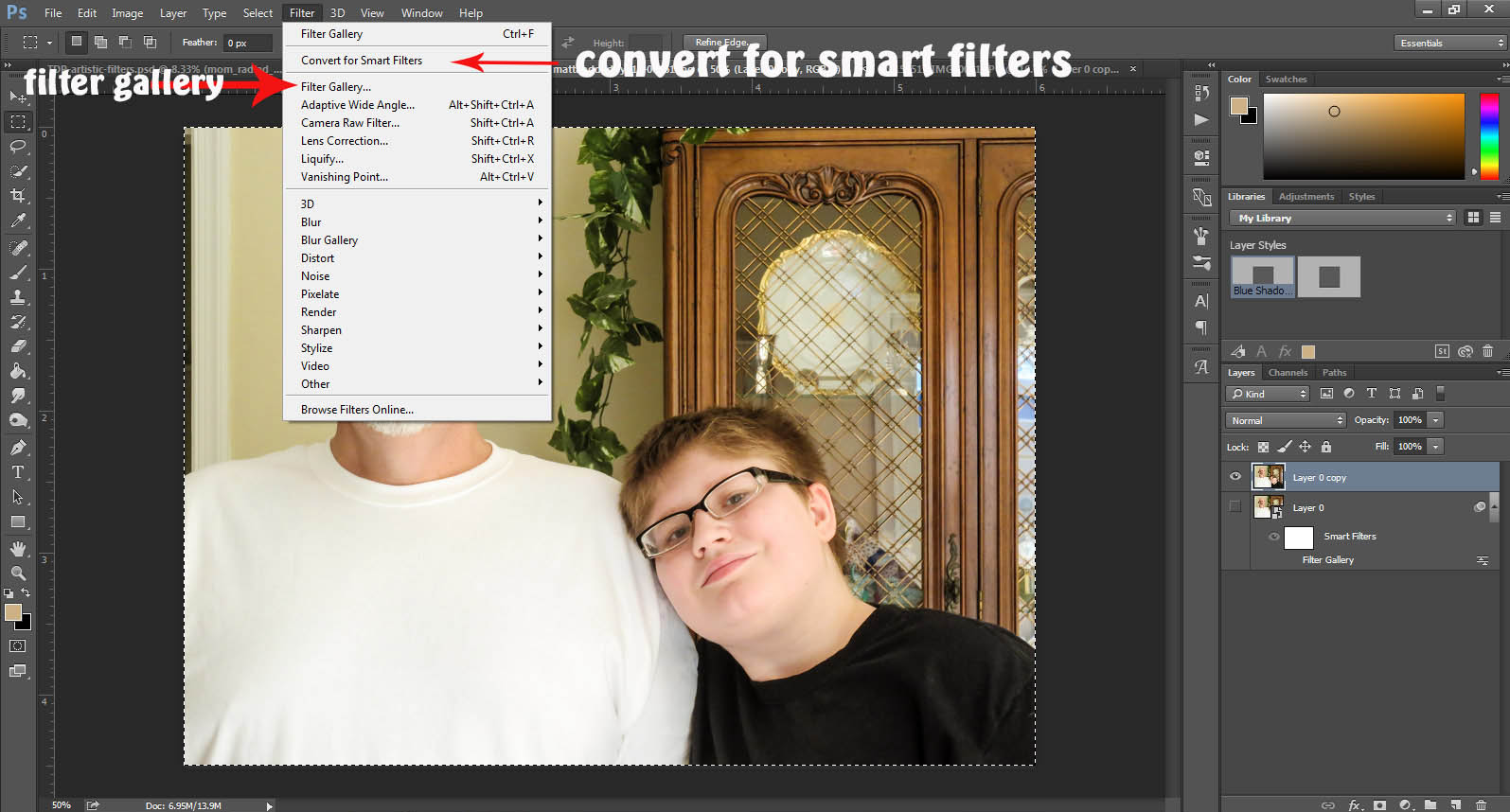 Tutorial – Get Artsy with the Filter Gallery in Photoshop