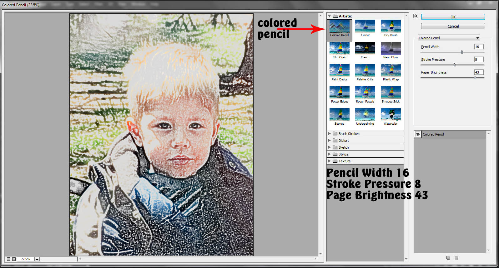 Tutorial get artsy with the filter gallery in photoshop the digital press