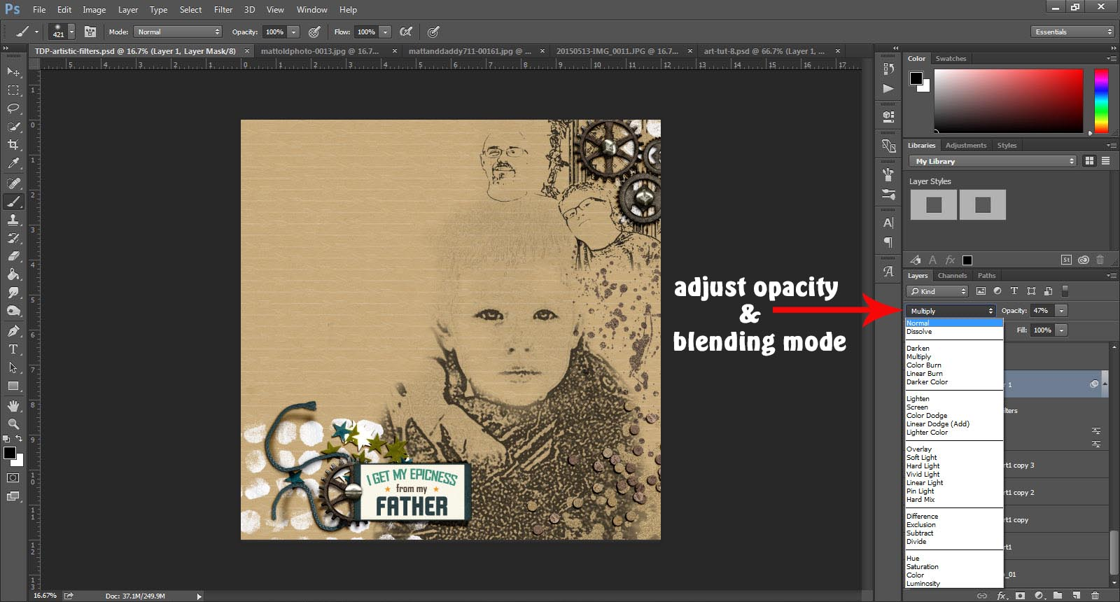 Tutorial get artsy with the filter gallery in photoshop the tutorial get artsy with the filter gallery in photoshop the digital press baditri Images