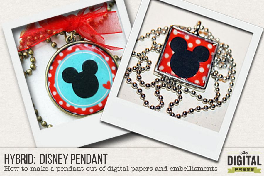 Hybrid:  Disney Pendant