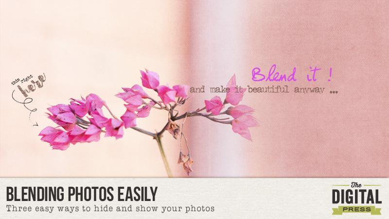 Blending Photos Easily