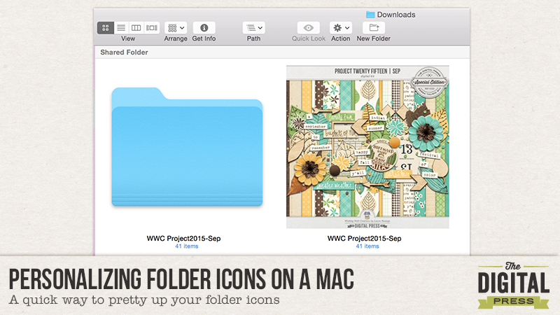 Personalizing Folder Icons On A Mac
