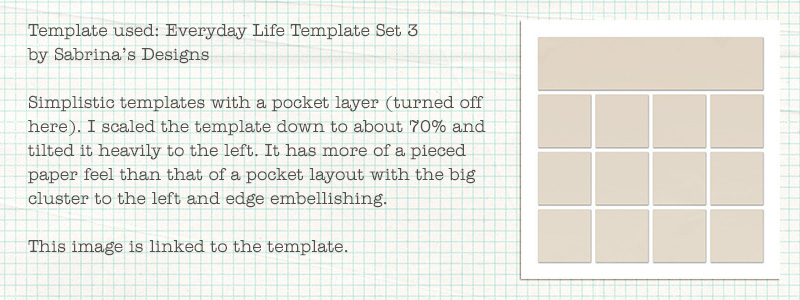 Playing with Pocket Templates