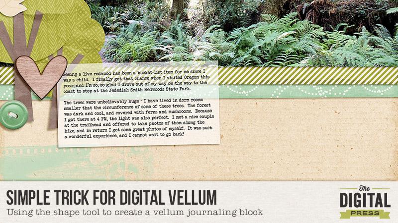 Simple Trick for Digital Vellum