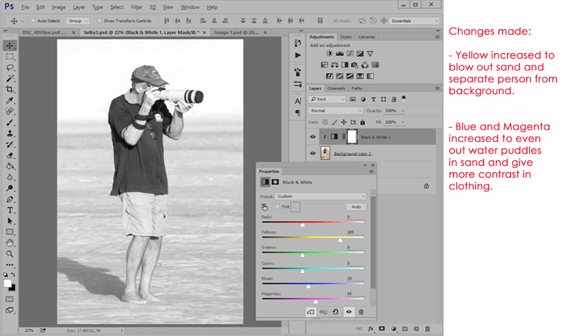 Better in Black and White Part 2 Tutorial