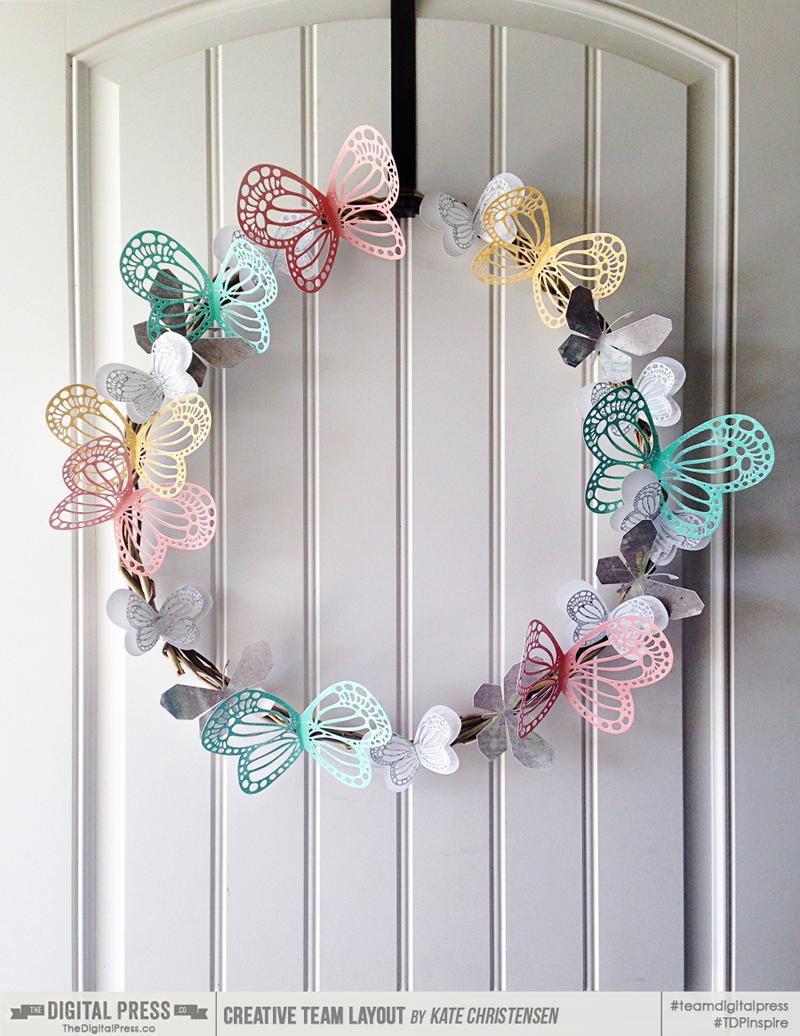 Hybrid: Butterfly Wreath