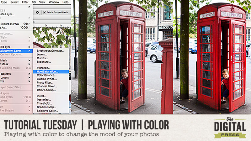 Playing with Color to Change the Mood of Your Photos