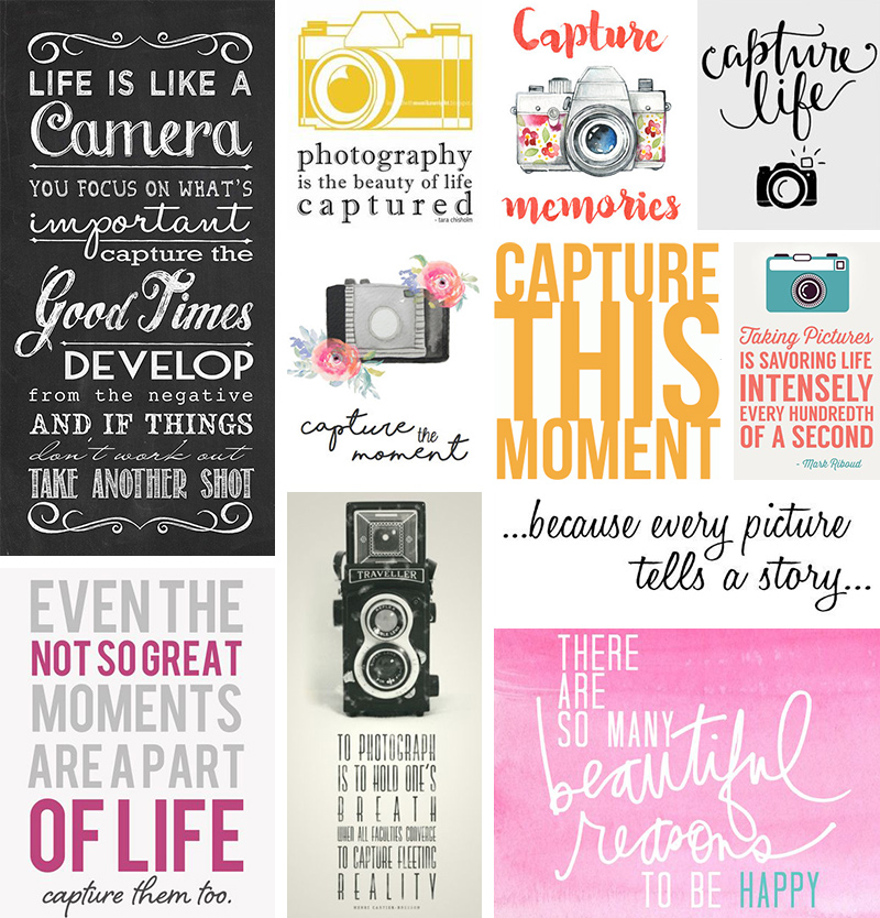 Capture Life - Inspiration