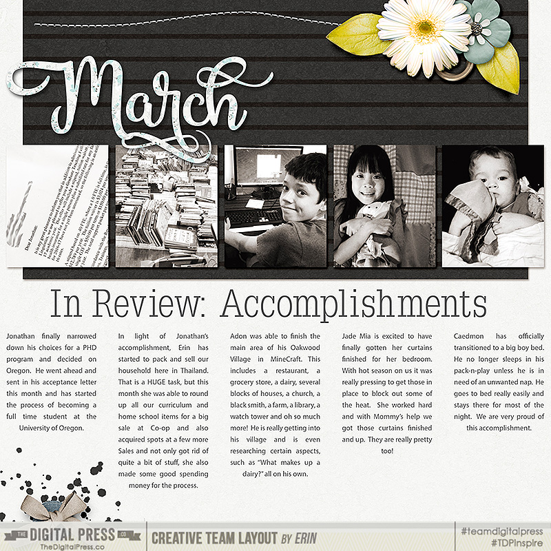 In Review: Accomplishements