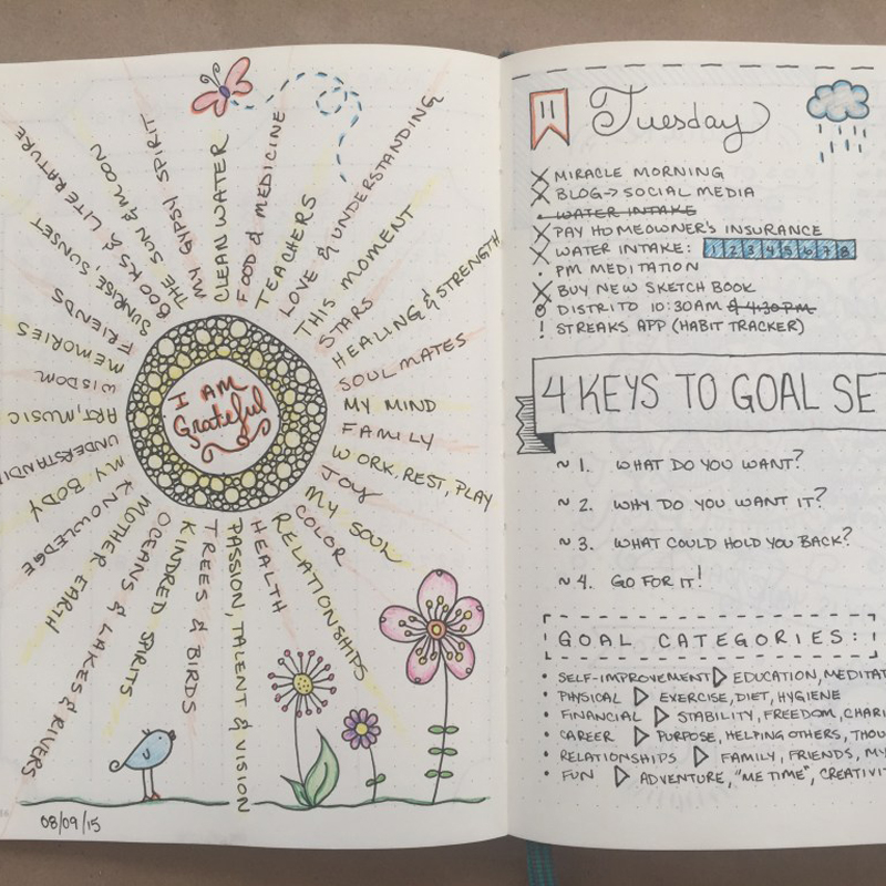 Accomplish More - Bullet Journaling & Pretty Pages