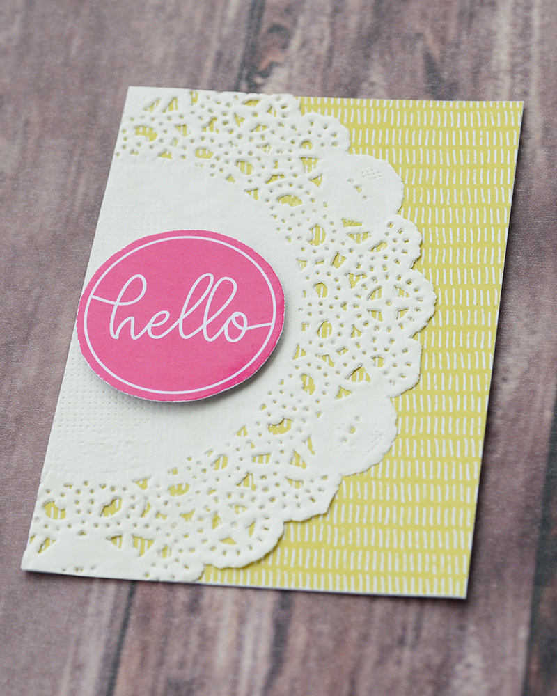 Tutorial Tuesday | Hybrid Pocket Letters