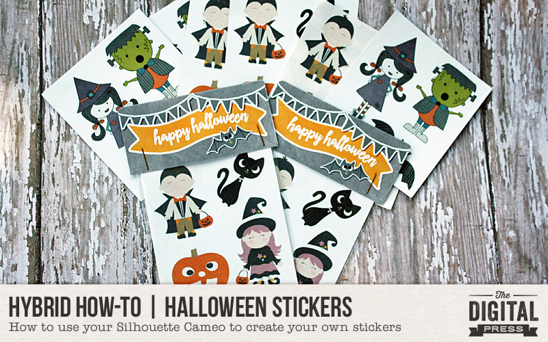 Hybrid HowTo Halloween Stickers The Digital Press - Design your own stickers
