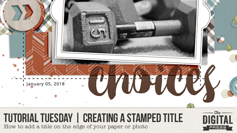 Creating a Stamped Title